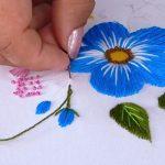 Primeros Pasos para Bordar Flores